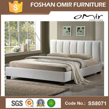 bedroom furniture simple double bed modern round bed designs ss8071
