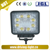 Super Bright Aluminum Housing 12V 24W Led Work Light in Auto Lighting System for Truck Jeep Offroad Vehicles