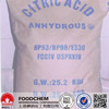 Hot Sale Food Grade Citric Acid Anhydrous