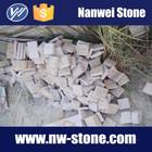 G682 zhangpu ferrugem natural granito superfície blocos de pavimentação