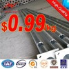 Round Tapered Hot Dip Galvanized Steel Pipe Manufacturer