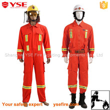 Flame retardant coverall with CE certificate