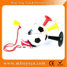 Plastic vuvuzela football horn