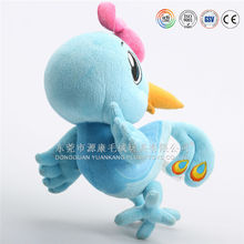 cute plush&stuffed yellow baby/small chicken/rooster toy for OEM