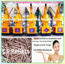CS 2015 hot sale CE 90KW vertical ring die sawdust wood pellet mill / bio-energy sawdust pelletizer