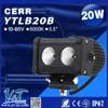 YT Factory Price Newest design led car roof rack light bar, 288w curved led light bar. led tail light for harley davidson