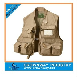 Camo Fishing Vest Made in China with High Quality