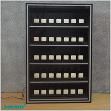 Factory direct price wine and cigarette display case