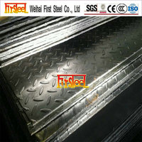 Prime quality factory price galvanized chequer plate