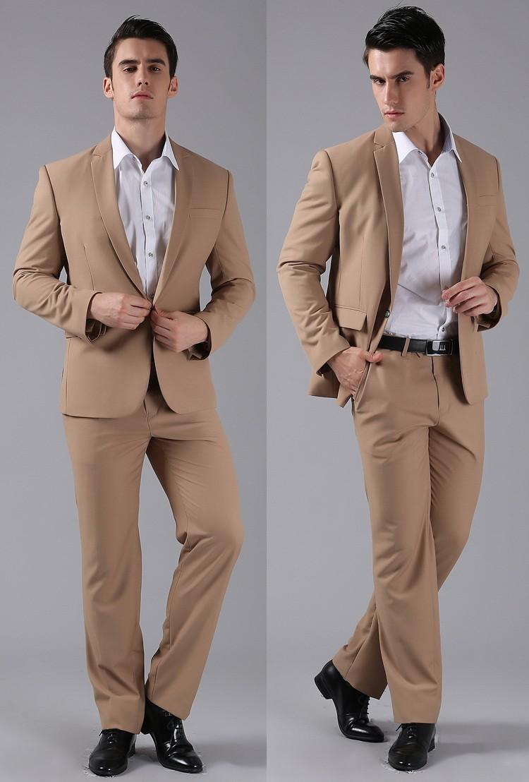 HTB1TyxnFVXXXXbwXpXXq6xXFXXXw - (Jackets+Pants) 2016 New Men Suits Slim Custom Fit Tuxedo Brand Fashion Bridegroon Business Dress Wedding Suits Blazer H0285