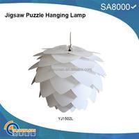 Modern Ceiling Pendant Contemporary IQ lights Jigsaw Puzzle Ze Lamp Light Shade M,L,XL JIGSAW LAMP