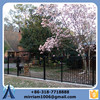 China Ornamental Steel Fencing/Spear Top Wrought Iron Fence/Tubular Steel Fence(Factory)