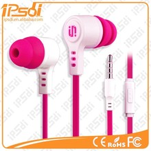 Colorful light-weight earphone, high quality ear piece,free sample offered