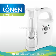 LONEN 2U CFL energy saving bulb 14W rechargeable led lantern with radio