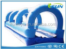 custom slip n slide inflatable / inflatable slip n slide / inflatable slip and slide for sale