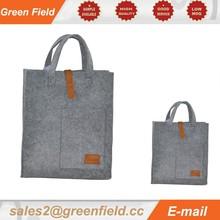 Felt tote bag shopping bag, recycled felt shopping bag made in CHINA