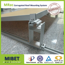 Symmetric Low Ballasted Support Solar Mounting for flat roof condition