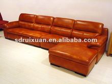 Modern Leather L shape sofa C2056