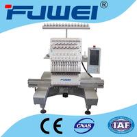 FUWEI Cross stitch embroidery flat/cap/T-shirt embroidery machine for baseball cap