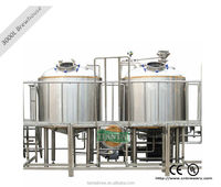 Small home bright beer making machine equipment