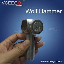 2015 Vceego the most popular mechanical mod clone wolf hammer Wolf Hammer mod with high quality in stock