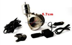 auto racing remote controller aluminum 2.5 INCH exhuast cutout vacuum actuator with flange design,exhaust control valve