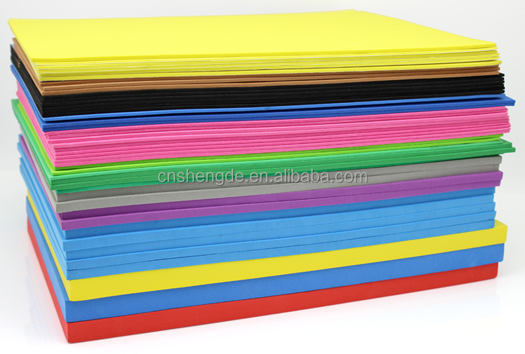 High Density Plastic 4 8 Thin Foam Sheet Thickness Eva