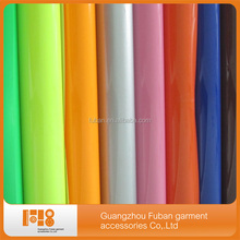 high quality blue PU flex heat transfer film for clothes