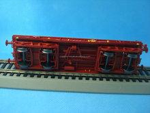 pretty train toy plastic mini ho scale model