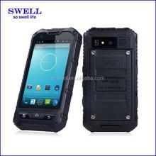 dual sim watch phone waterproof/military grade phones/ IP67 Dual Core phone