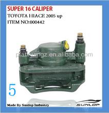 KDH 200 toyota hiace parts super 16 caliper #000442 caliper for Toyota hiace 1994-2002, inyathi, golden dragon, jinbei VAN