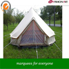 [ Fashinart ]double layers 6m bell tent family camping tent luxury tent for big family