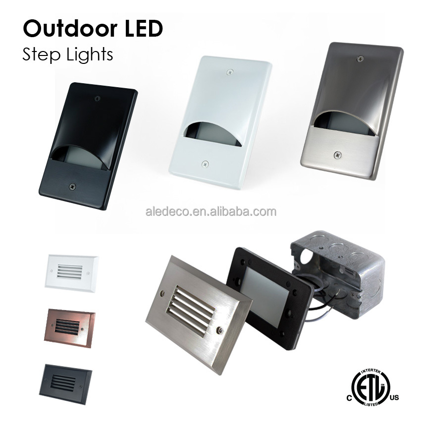 Etl Approved Outdoor Led Step Light Buy Led Recessed