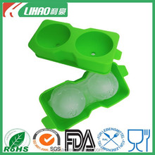 Novelty food grade silicone ice ball maker
