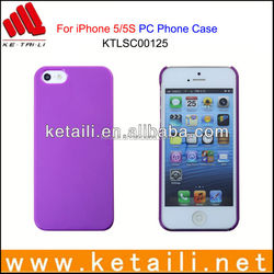 For iPhone 5S OEM Design Printable Blank PC Mobile Phone Cover Factory