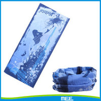 outdoor polyester multifunctional bandana ocean fishing tube scarf