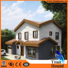 Quick Installation Two Storeys Simple and Economic Small Prefab Houses