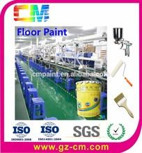 Pintura suelo Anti estática piso de la fábrica epoxi autonivelante pintura