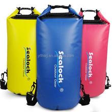 Yellow High Quality PVC 28Liter Waterproof Dry Bag