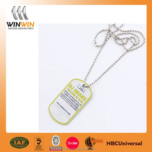 brand logo metal tag trade assurance supplier