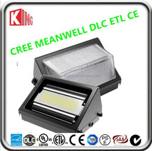 led wall light ip65 European Wall Pack Mounted light UL 60W meanwell