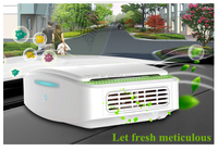 High quality powerful negative ion air purifier for a car in wholesale.