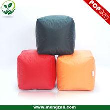 Simple design cube bean bag cover