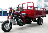 200CC 250CC water cooled wind cooled auto hydrulic dumping tricycle