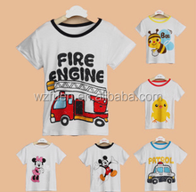 2015 cute popular children's t-shirt