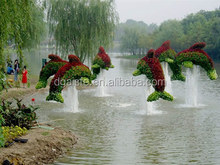 entertainment/park/grmall fake ass animal Life-like artificial grass topiary