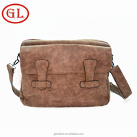 2015 High Quality Vintage Style Laptop Bag for Men Briefcase