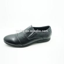 Talón bajo del cuero genuino de la alta calidad mejor posición de la mujer zapatos de vestir de cuero