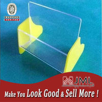 Free Standing Durable Acrylic Display Shelves Clear For Storage