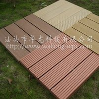 waterproof wpc polymer outdoor decking flooring